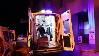 Darp edilen taksici yaralandı - BURDUR