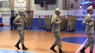 Jandarma At ve Köpek Eğitim Merkezi Komutanlığında sertifika töreni düzenlendi - NEVŞEHİR