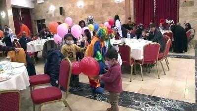 Lösemili çocuklar gönüllerince eğlendi