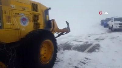 Mersin'de karda kaybolan vatandaşın arama çalışmalarına ara verildi