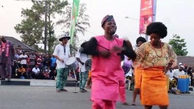 Afrika'nın en büyük 'sokak partisi' Calabar Festivali başladı - CALABAR