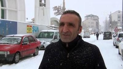 Eleşkirt'te kar yağışı - AĞRI