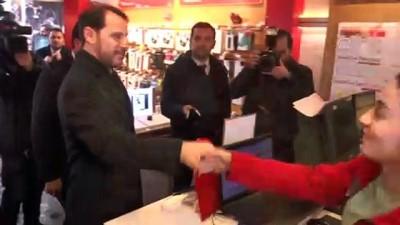 Hazine ve Maliye Bakanı Albayrak, esnaf ziyaretinde bulundu - ŞIRNAK