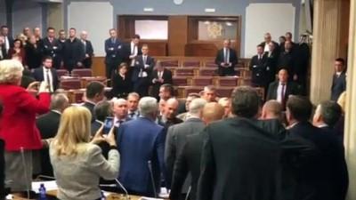 Karadağlı milletvekilleri mecliste tartıştı - PODGORİCA