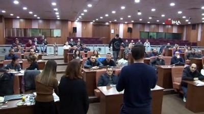 ozel guvenlik gorevlisi -  Kartal Belediyesi özel güvenlik personeline öfke kontrolü eğitimi verdi