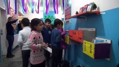 Okulda 'askıda iyilik' uygulaması