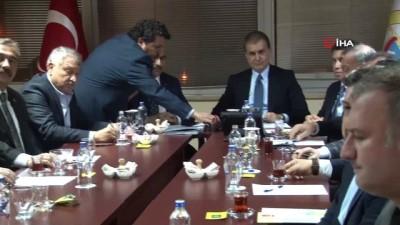 """Ömer Çelik: """"Adana'ya 41 milyonluk TL'lik destek"""""""