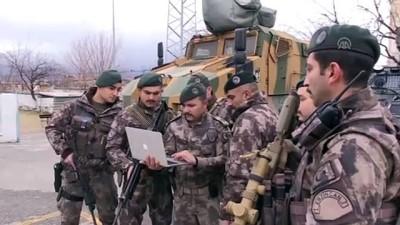 Terörle mücadele kahramanların tercihi 'Millilerden asker selamı' oldu - ERZİNCAN