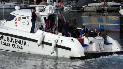 nani - 4 operasyonda 189 düzensiz göçmen yakalandı - ÇANAKKALE