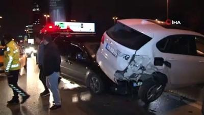 aydinlatma diregi -  Alkollü sürücü kaza yaptı: 1 yaralı