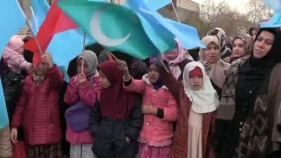 kirim - Çin'in Doğu Türkistan politikaları protesto edildi - KAYSERİ