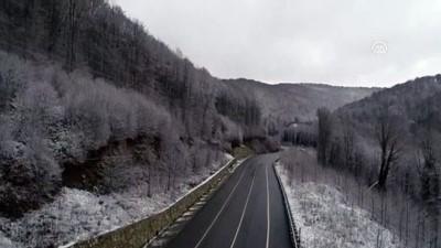 Yüksek kesimlerde kar yağışı başladı - KIRKLARELİ