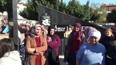 Antalya'da vatandaşlardan 'baz istasyonu' tepkisi