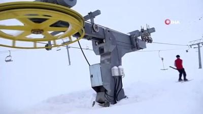 Bingöl Hesarek'te kayak sezonu açıldı, hedef 200 bin ziyaretçi