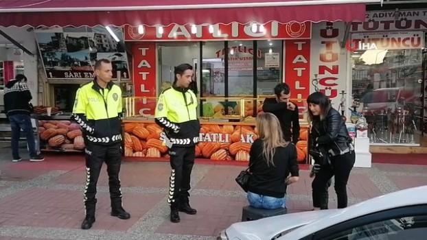hollanda -  Hollandalı kadın turist trafik polislerine zor anlar yaşattı