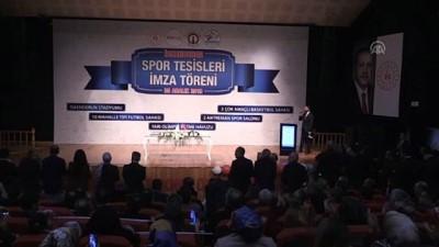 yerel yonetimler - Bakan Kasapoğlu, İskenderun'da Spor Tesisleri Yatırım Prokotokolü'nü imzaladı