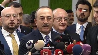 Dışişleri Bakanı Çavuşoğlu'ndan, İYİ Parti ziyareti sonrası açıklama