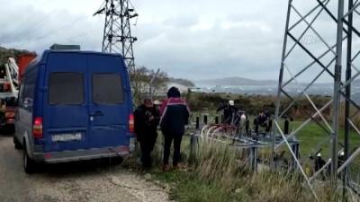GÜNCELLEME - Marmara Adası'nda elektrik kesintisine yol açan kablo arızasının yeri belirlendi - BALIKESİR