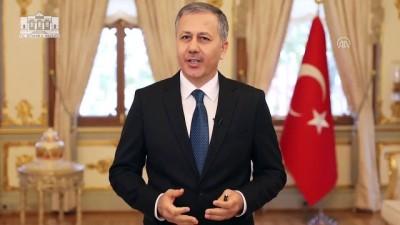 yazili aciklama - İstanbul Valisi Yerlikaya: 'Gönül bağlarımızın, 2020'de daha da güçlenmesini temenni ediyorum' - İSTANBUL