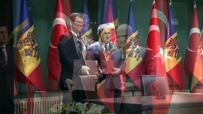 Türkiye ve Moldova arasında müzakere edilen anlaşmaların imza töreni - ANKARA