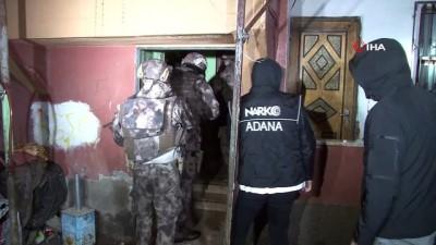 ozel harekat polisleri -  Uyuşturucu satıcılarına şafak baskını