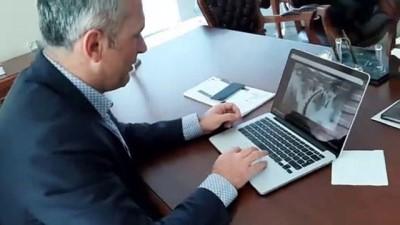 Ardahan Barosu Başkanı Yıldız, AA'nın 'Yılın Fotoğrafları' oylamasına katıldı