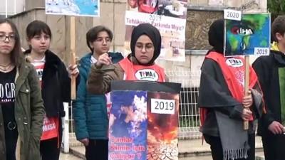Bafra Anadolu Lisesi 15 yıldır uyarıyor