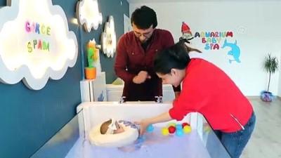 Bebeklerin jakuzi keyfi - VAN