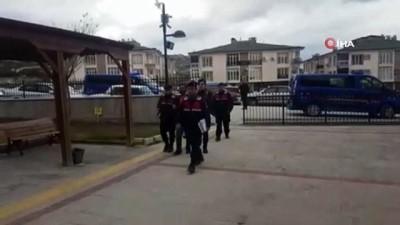 Cezaevi firarisi sahte kimlikle bağ evinde yakalandı