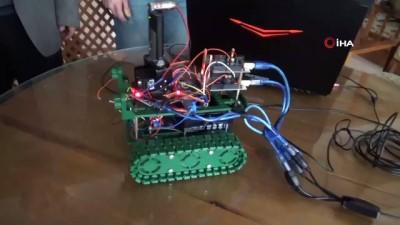 uc boyutlu yazici -  Geleceğin bilim adamlarından 'İnsansız tank' projesi