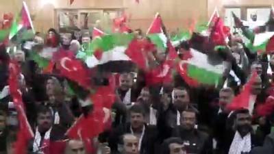 Hatay'da 'Kudüs için ayaktayız, Filistin için buradayız' programı düzenlendi