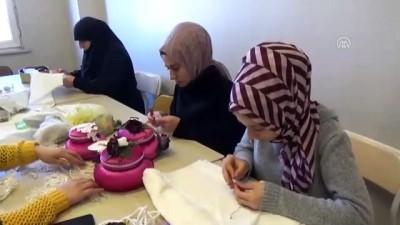 Kadınlar, devlet çatısı altında meslek öğreniyor - MUŞ