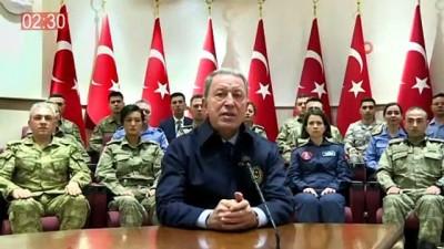 Milli Savunma Bakanı Akar 2019 yılını özetledi
