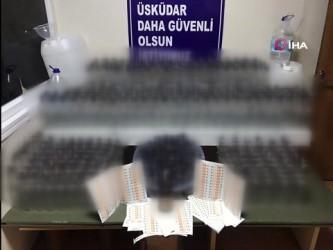 sahte icki -  Yılbaşı öncesi İstanbul'da sahte içki operasyonu