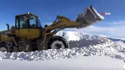 Kar nedeniyle kapanan 30 köy yolu ulaşıma açıldı