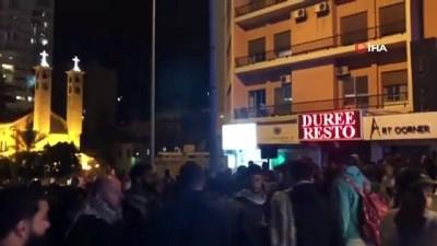 - Lübnan'da Hariri'ye yakınlığı ile bilinen başbakan adayı Hatib protesto edildi