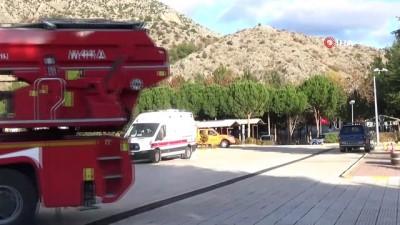 ozel harekat polisleri -  Amasya'da sivil savunma tatbikatı gerçeğini aratmadı