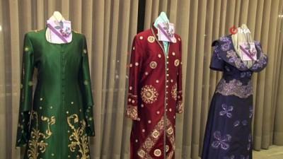 Tayland ipeği ünlü modacı Özceyhan'ın tasarımlarıyla buluştu