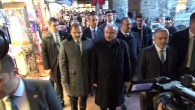 TBMM Başkanı Mustafa Şentop'tan esnaf ziyareti