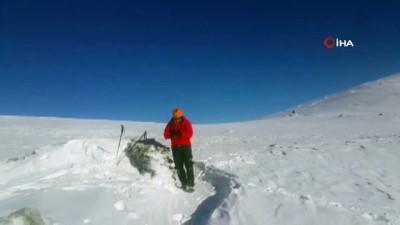 kayip dagci -  Uludağ'da kayıp iki dağcının sığınabileceği mağarada kazı çalışması başlatıldı
