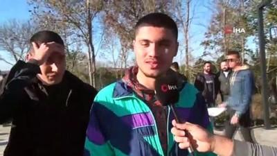 6. Geleneksel Hamsi Festivali'nde öğrenciler 1 ton hamsi yedi