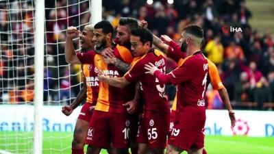 Galatasaray - Aytemiz Alanyaspor maçından kareler -1-