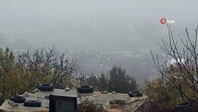 Gaziantep'te sis etkili oldu