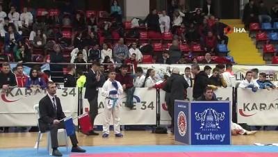 Karate 34 Süper Ligi müsabakaları gerçekleşti