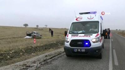Kontrolden çıkan otomobil şarampole uçtu: 1 ölü, 1 yaralı