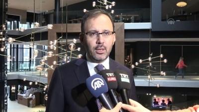 Bakan Kasapoğlu Hollanda Spor Bakanı ile buluştu - LAHEY