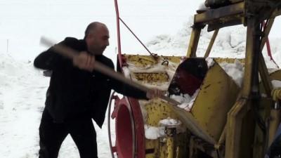 ulfet - Kardan kapanan 11 bin kilometre yolu açtılar - BİTLİS