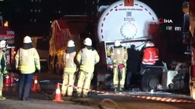 Kontrolden çıkan hafriyat kamyonu gaz tankerine çarptı: 1 ölü