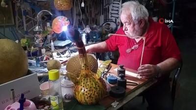 50 yıllık kalorifer tesisatçısı 10 yıldır yaptığı maketlerle dikkat çekiyor