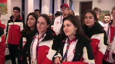 EYOF 2019'un Türkiye kafilesi Bosna Hersek'te - SARAYBOSNA